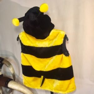 Other - Heavy bumblebee pullover hooded vest child's L EUC